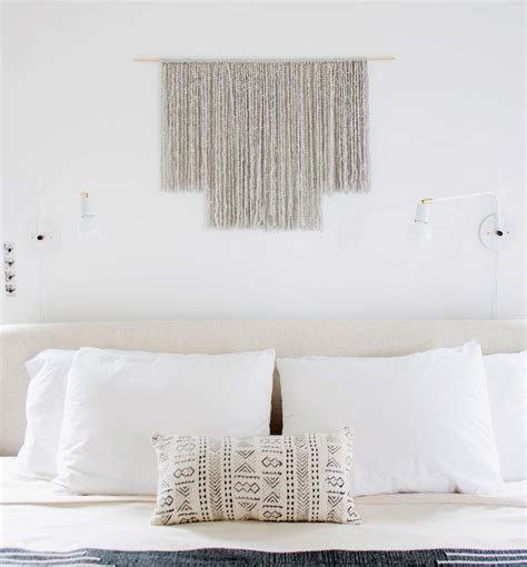 A Stylish (and Crazy Easy) Wall Hanging Diy  Front + Main