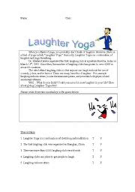 exercises laughter yoga