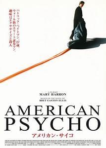 AMERICAN PSYCHO - Japanese chirashi – RARE PRINTS AND POSTERS