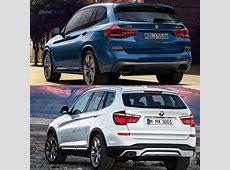 Photo Comparison G01 BMW X3 vs F25 BMW X3