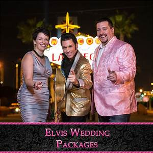 Elvis wedding photos like this item with elvis wedding for Los vegas wedding packages
