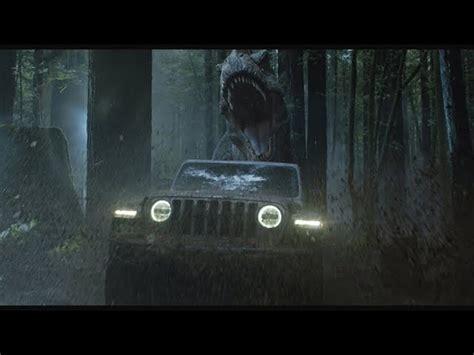jurassic world jeep マルコム博士がtレックスと再勝負 ジープの ジュラシック ワールド コラボcm ギズモード ジャパン