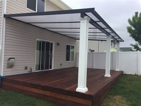 Patio Covers by Patio Cover Gallery Awnings Deck Covers Portland Or