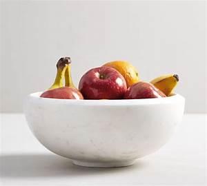 White, Marble, Fruit, Bowl