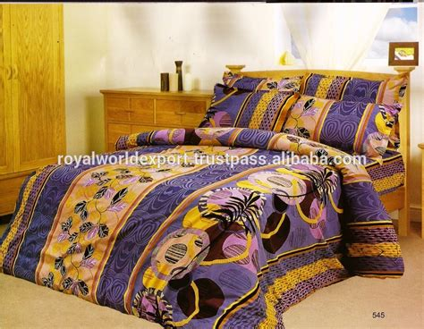 Indian Embroidered India Bedding Set Handmade Beautiful