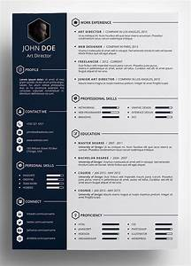 Free Resume Builder 10 Best Free Resume Cv Templates In Ai Indesign Word
