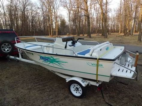 Boston Whaler Jet Boat Models by Boston Whaler Rage Jet Boat 14 And Yacht Club Trailer