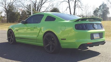 section  kinda slow  mustang source ford