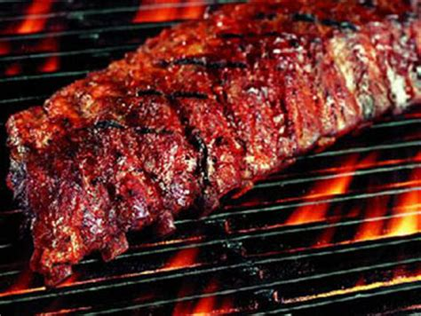cooking ribs on grill bbq ribs on the grill recipes dishmaps