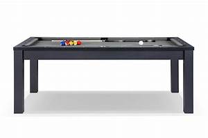 Table À Manger Billard : billard transformable en table manger noir billards defaistre ~ Melissatoandfro.com Idées de Décoration