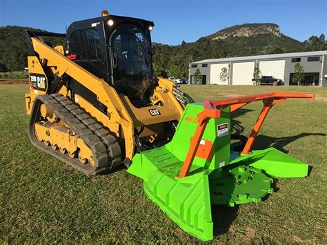 afe ss eco mulcher  skid steers launched  aus