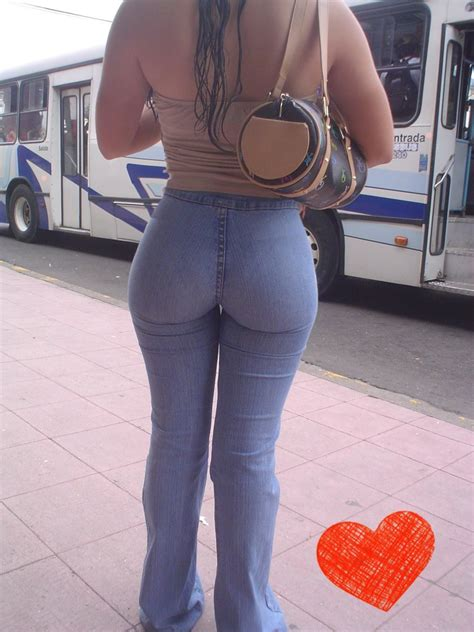 Jeans Candid Street Voyeur – Hot Nice Tight Or Shapely Ass