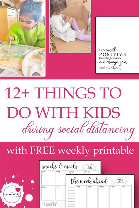 12+ Things To Do With The Kids At Home With Social