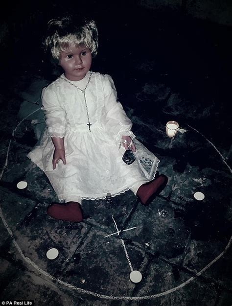 video  haunted doll peggy   viewers