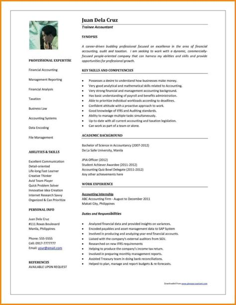 accountant resume template microsoft word templates