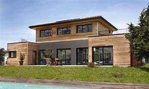 Idée Construction Maison : id e relooking cuisine r alisations maison ossature bois ~ Premium-room.com Idées de Décoration