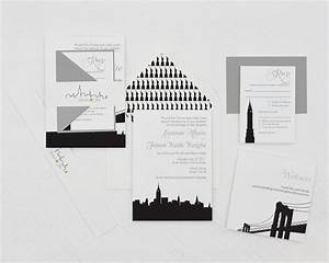 modern wedding invitation new york wedding With wedding invitations cheap nyc