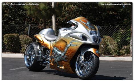 car bike fanatics custom modified suzuki hayabusa