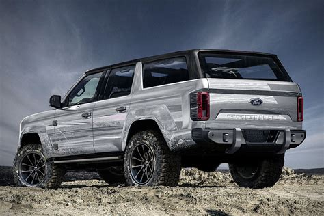 bronco prototype this new 2020 ford bronco 4 door concept needs to become a