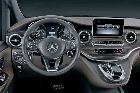 Mercedes-Benz V-Class (W447) interior revealed Image 205697