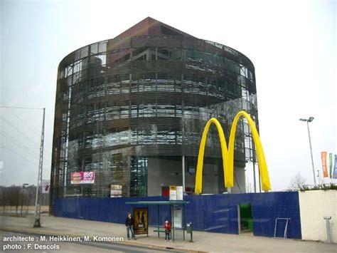 siege mcdo architecture in helsinki archiguide