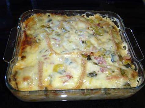 recette de gratin pommes de terre poireaux et lardons