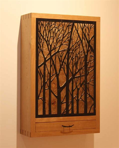 Wall Hung Cabinets - tree wall hung jewelry cabinet