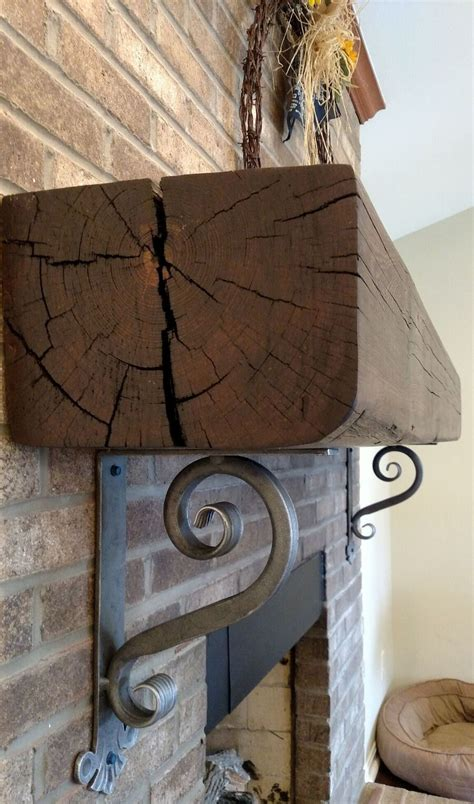 Fireplace Corbels by Decorative Wrought Iron Corbels For Mantel Shelves