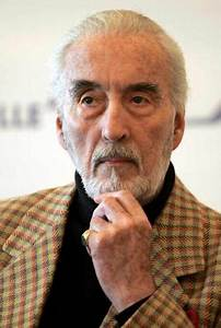 PHOTOS: Acting legend Christopher Lee passes away at 93 ...