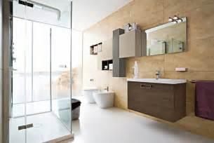 interior design bathroom inviting modern bathroom interior design with brown furniture Modern