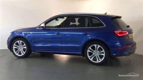 Blue Audi Q5 by Fn65dlk Audi Q5 Sq5 Tdi Quattro Blue 2015 Derby Audi