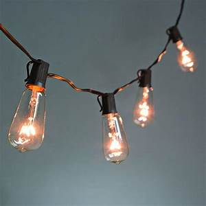 10 light clear patio string to string light set 92887 With outdoor string lights meijer