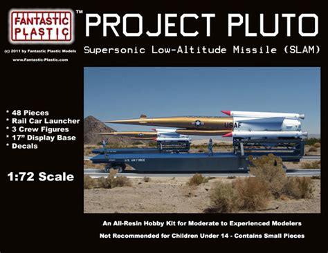 project pluto slam  fantastic plastic models