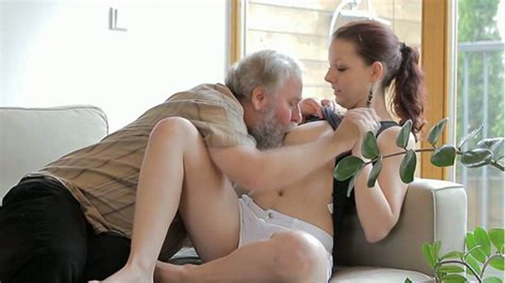#Ugly #Grandpa #With #Gray #Beard #Licks #Sweet #Teen #Pussy