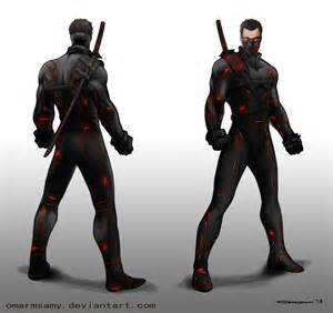 Futuristic Ninja Armor