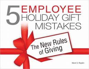 Christmas Gifts for Employees Avoid The 5 mon