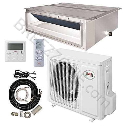 Mitsubishi Ducted Mini Split System by 18000 Btu Ymgi Ducted Recessed Mini Split Air Conditioner