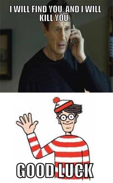 Waldo Meme - 37 i will find you and will kill you waldo pmslweb