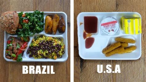 How Much Do School Lunch Make by School Lunches From Around The World Make American