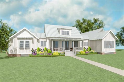 Exclusive Farmhouse Plan With Side Entry Garage