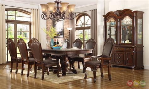 Chateau Traditional Formal Dining Room Furniture Set|free
