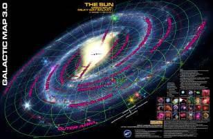 Milky Way Galaxy Map Star