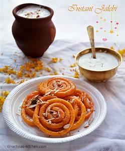 Instant jalebi recipe, How to make jalebi at home   Jalebi ...