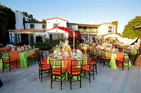 orange and lime weddings