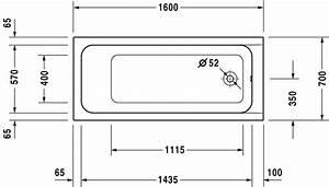 Baignoire Douche Dimension : duravit d code bathtubs baignoire 700096 by duravit ~ Premium-room.com Idées de Décoration