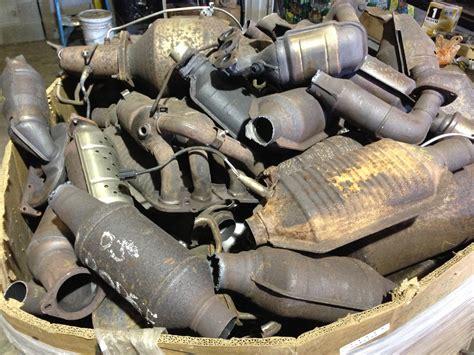 scrap catalytic converters