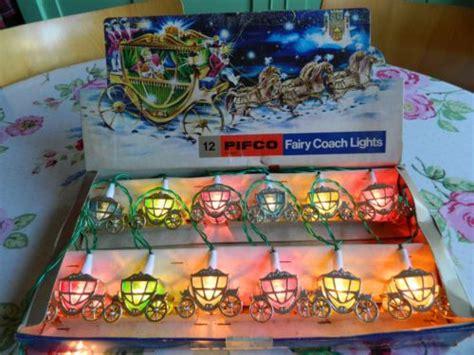 vintage pifco cinderella fairy coach christmas tree fairy