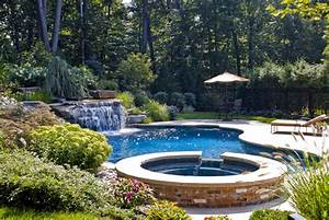 Back yard swimming pool designs home designs for Swimming pool and landscape designs