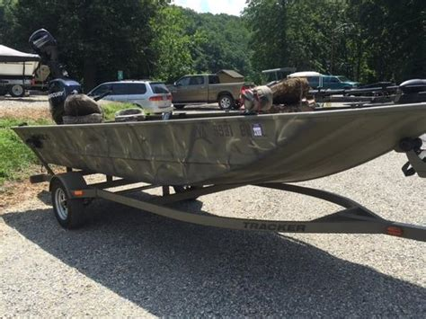 Bass Tracker Grizzly Jon Boats by Used Jon Tracker Boats For Sale Boats