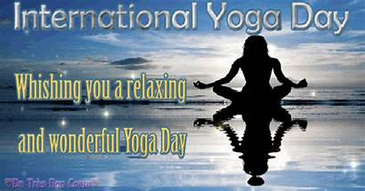 Yoga International Whatsapp 3d Relaxing Animation Glitters